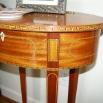 Small Ron Young oval table